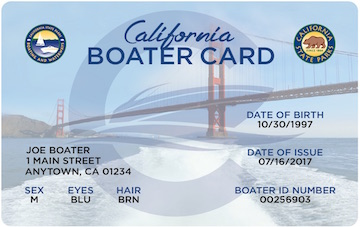 California Boater Card